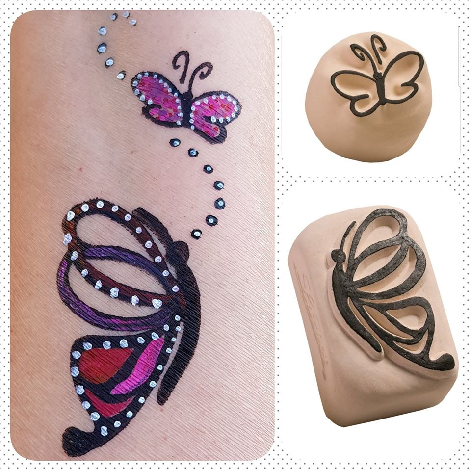 temporary tattoo butterfly