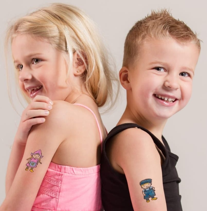 temporary tattoo children
